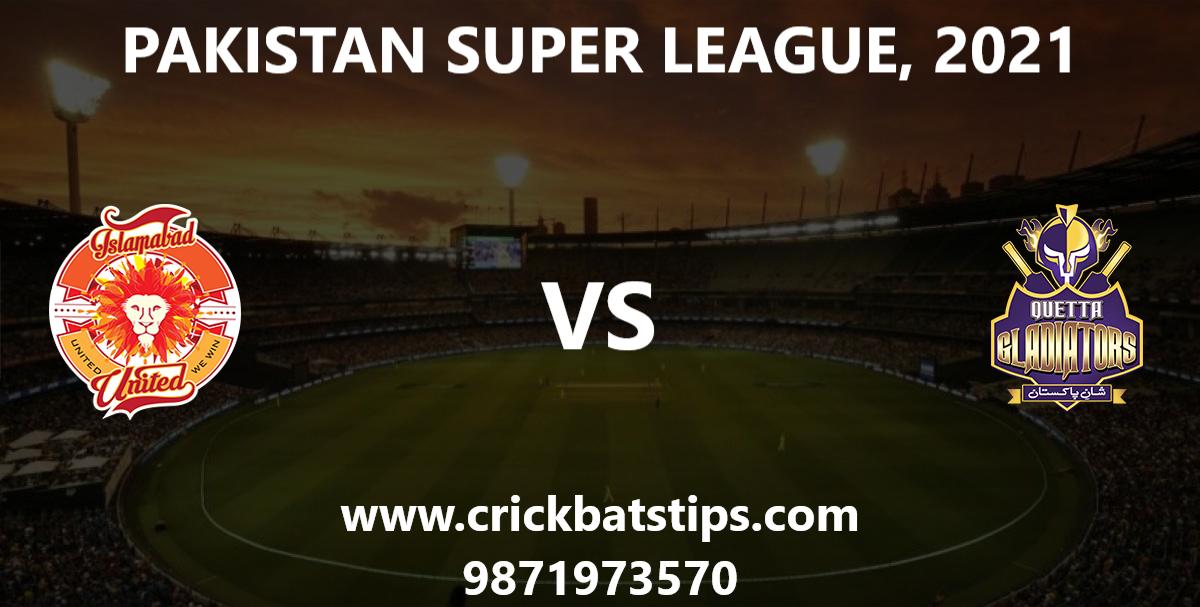 Islamabad-United-vs-Quetta-Gladiators-PSL-2021-Winner-News-Predictions