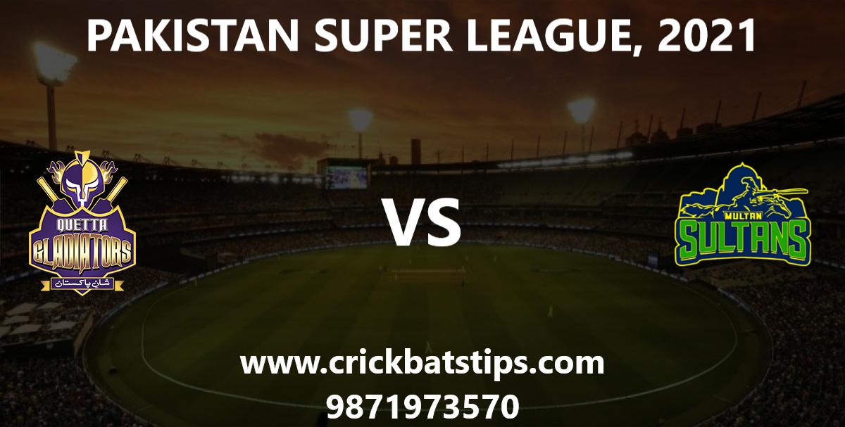 Quetta-Gladiators-vs-Multan-Sultans-PSL-2021-Winner-News-Predictions