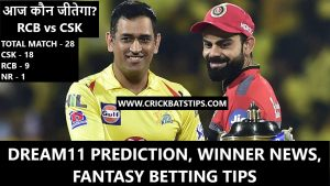 RCB vs CSK Dream11 Prediction, Winner, Fantasy Tips - IPL 2021