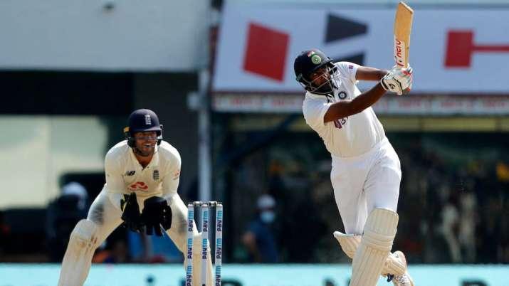 Ravi Ashwin hits his 5th Test Cricket Century. 5 Wickets in 1st Inning and 106 runs in 2nd Inning. WAAAOOOOOOO