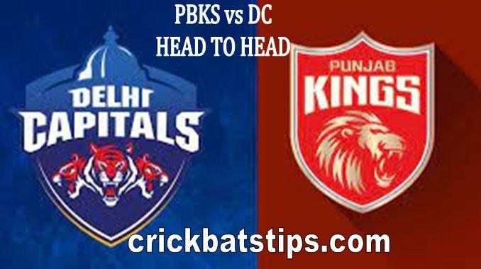 pbks vs dc head to head