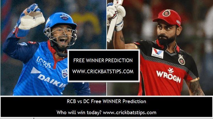 rcb vs dc free winner