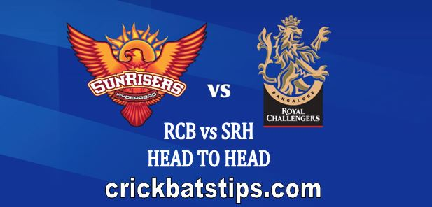 rcb vs srh head to head