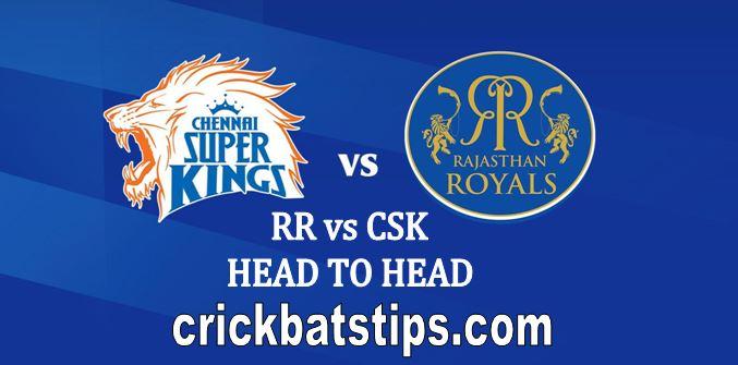 rr vs csk head to head