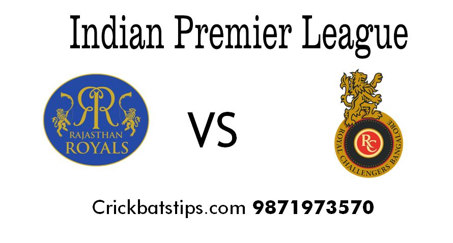 rr vs rcb complete head to head