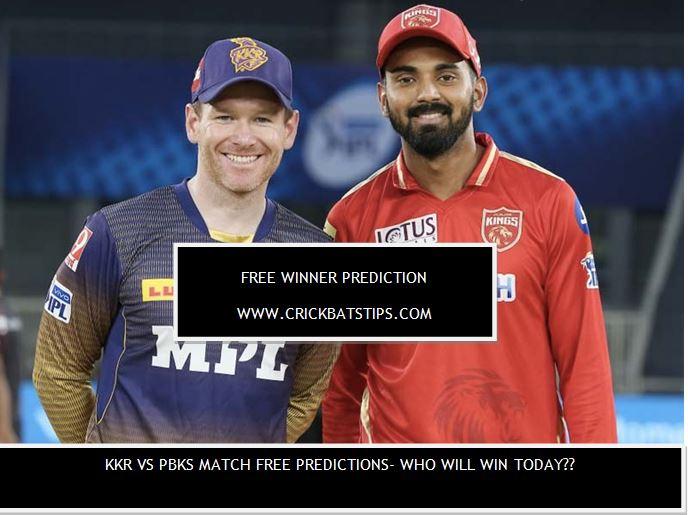 KKR vs PBKS Match Free Predictions